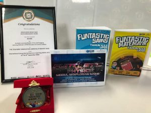 Silver Award for our Funtastic Sains, Matematik & Physics at Teachers' Innovation Carnival (T-NOVATE) at UIA